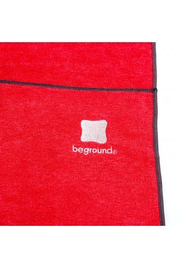 yoga towel cayenne logo