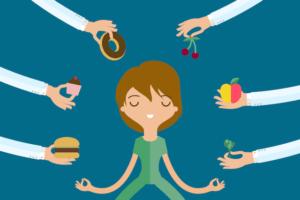 meditation vs binge