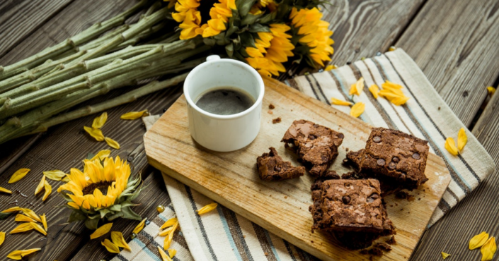 brownies fit con patate dolci